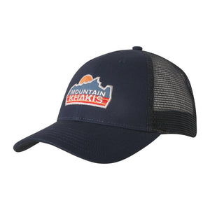 Sunrise Trucker Hat Navy