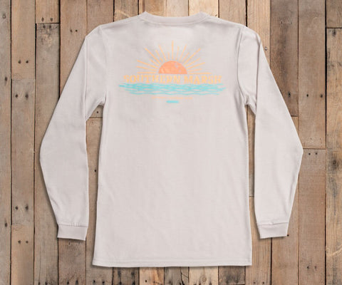 FieldTec LS Comfort Tee - Sunset