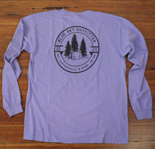 Load image into Gallery viewer, L/S Blue Sky Comfort Colors Tee