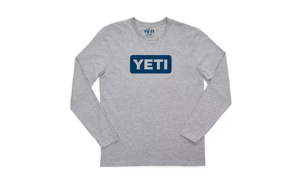 Logo Badge Long Sleeve T-Shirt