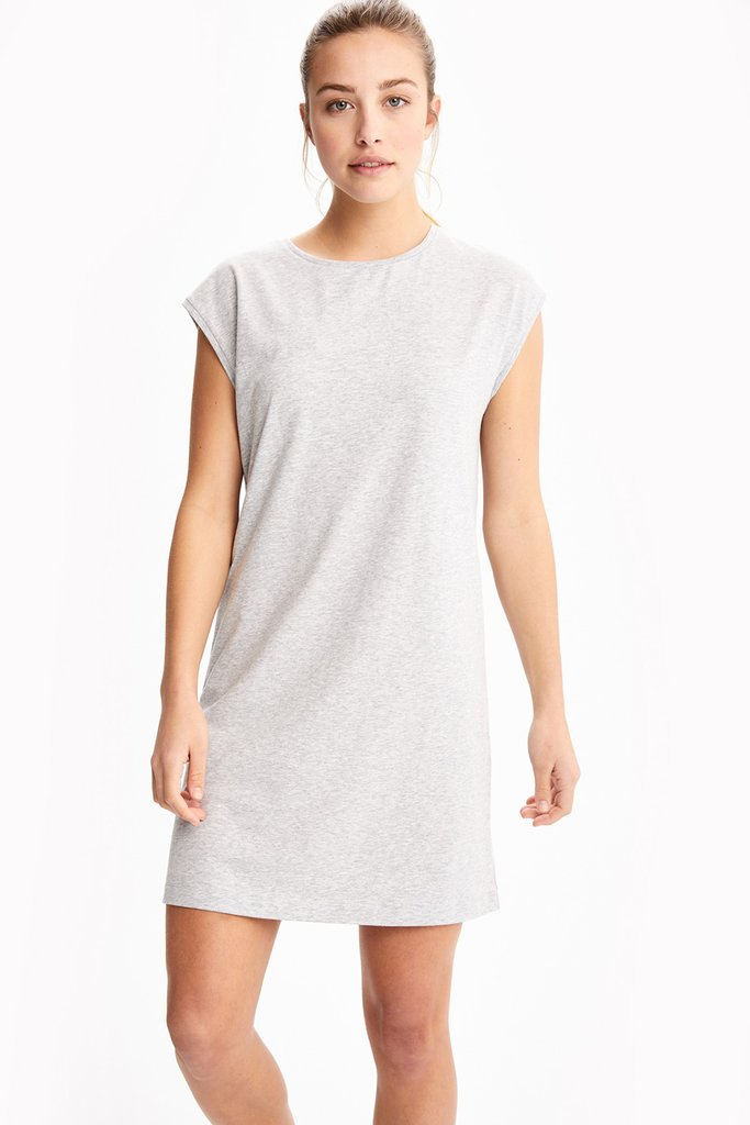 W Luisa Cap Sleeve Dress