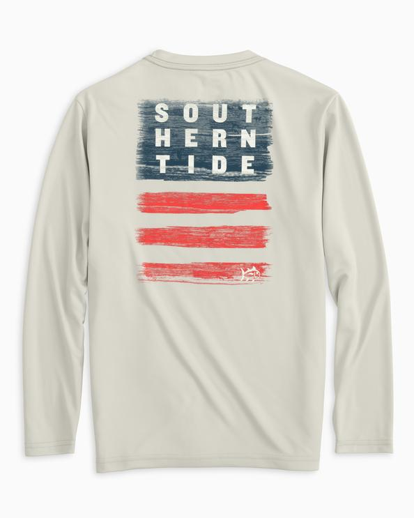 M LS Performance Wooden Flag Tee