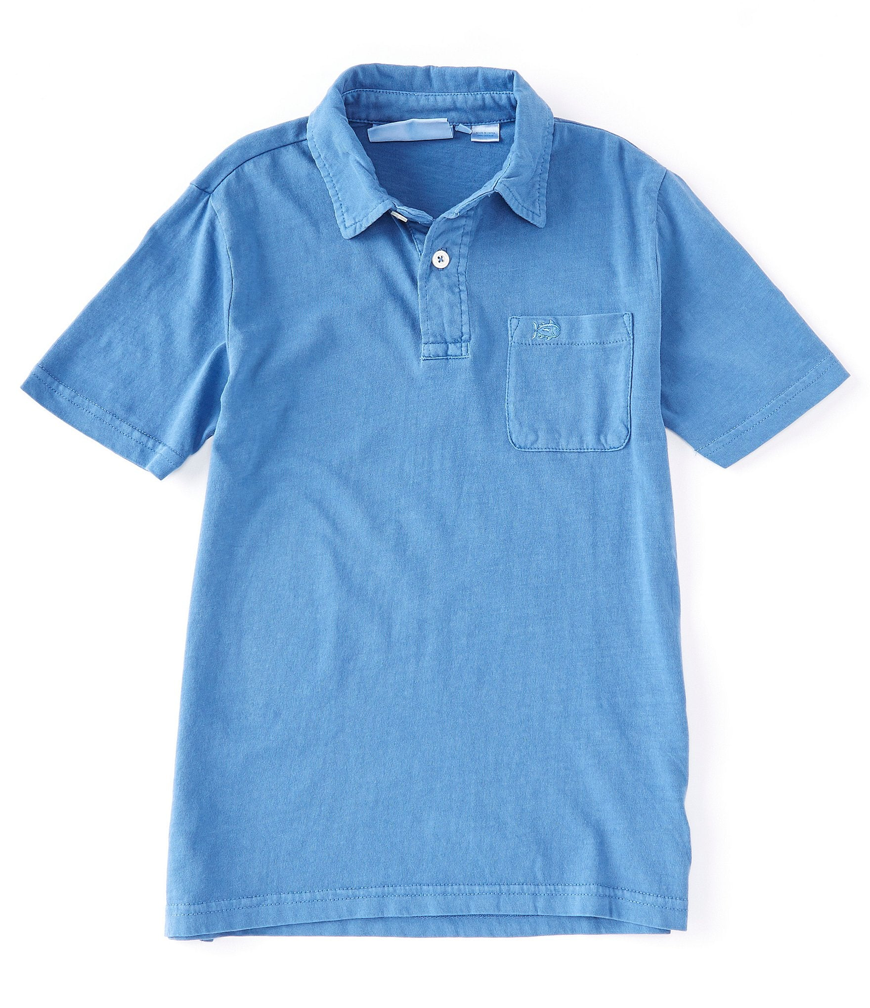 M S/S Island Road Jersey Polo