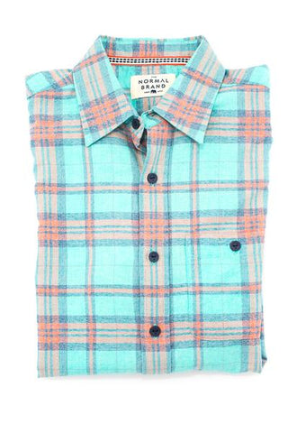 M Stag Button Down