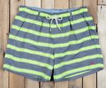 M Dockside Swim Trunk - Cruiser Stripe