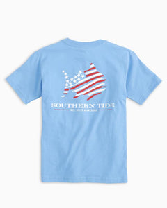 Y SS Red White & Awesome Tee