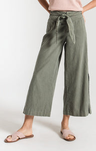 W Amiens Tie Front Pant