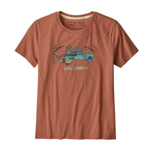 Live Simply Lounger Organic Cotton Crew T-Shirt