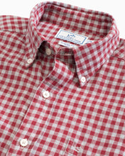 Load image into Gallery viewer, Wharf Heathered Gingham Button Down Shirt