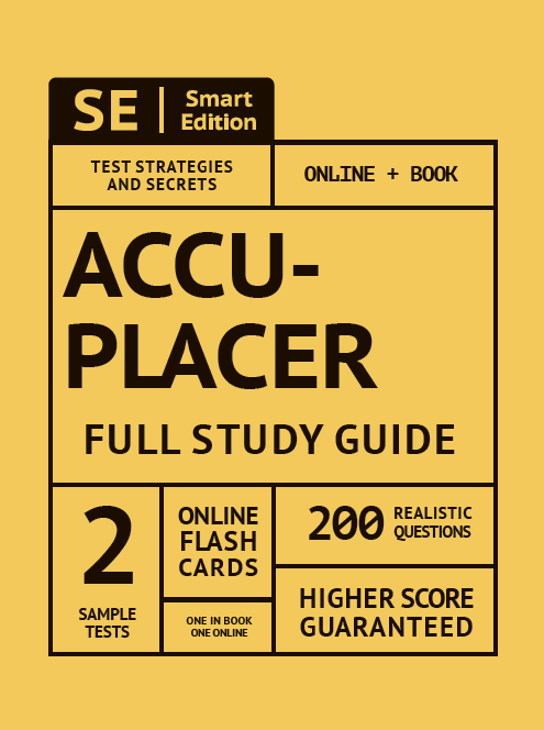 ACCUPLACER Full Study Guide