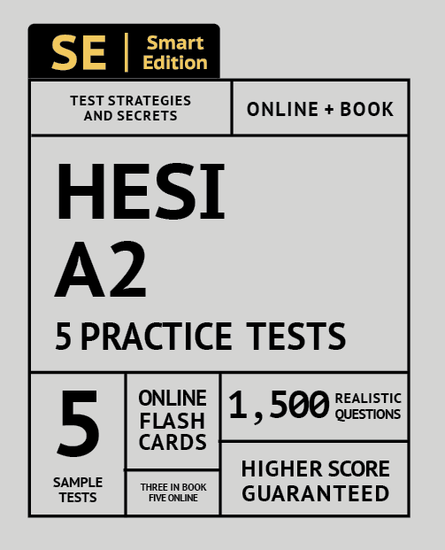 HESI A2 Practice Test Workbook