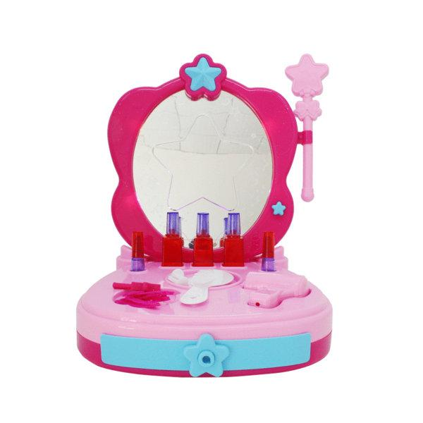Girls toy set play beauty set toy-Pink