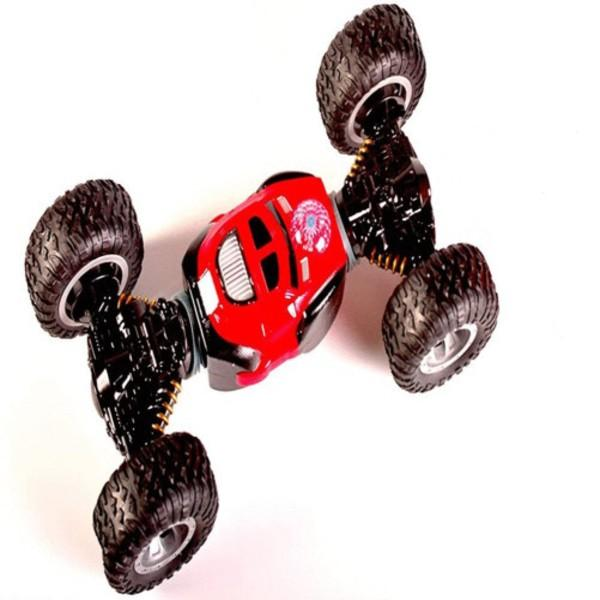 Double sided rolling amphibious stunt car-Red