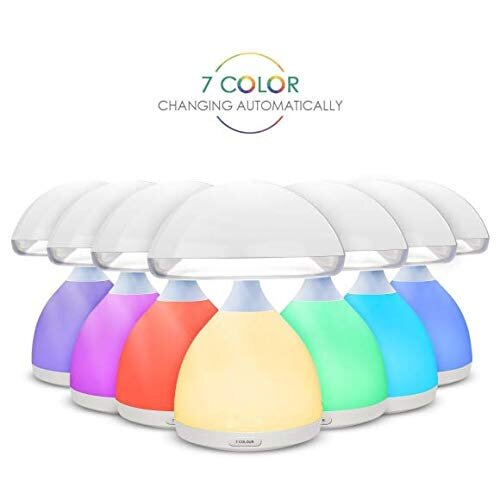 Multi-color Mushroom Lamp