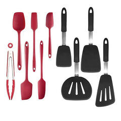 10 Pcs Heat  Resistant Silicone Kitchen Utensils