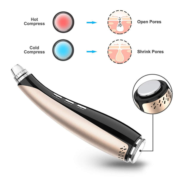 Electric Vacuum Acne Facial Blackhead Remover Tool