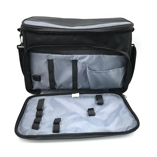 Foldable Insulated Zip Closure Lunch Cooler Bag