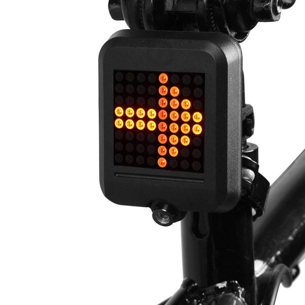 Intelligent bicycle Brake Sensor Laser Light-Black