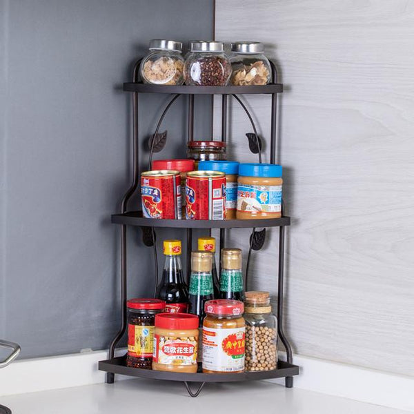 Multi functional  Kitchen and Bathroom Shelves 3-tier Rack