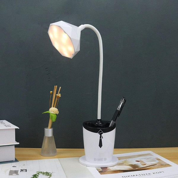 Multi-functional LED desk lamp
