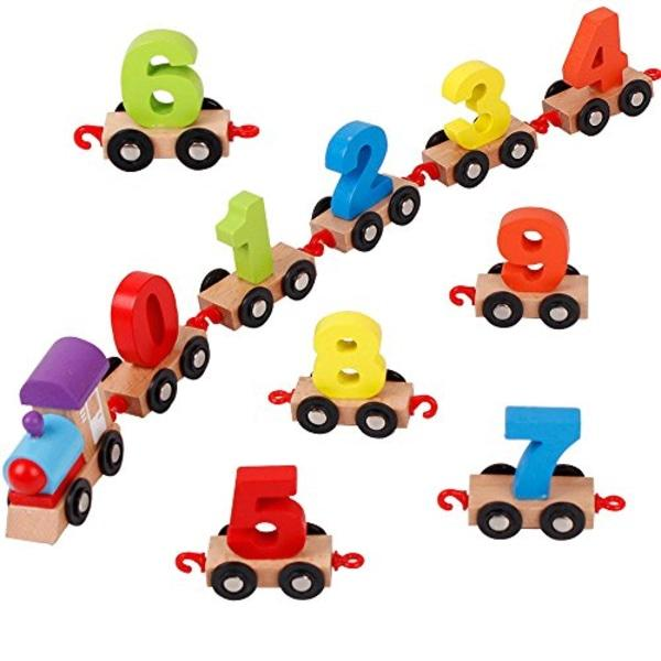 Educational train -multi color