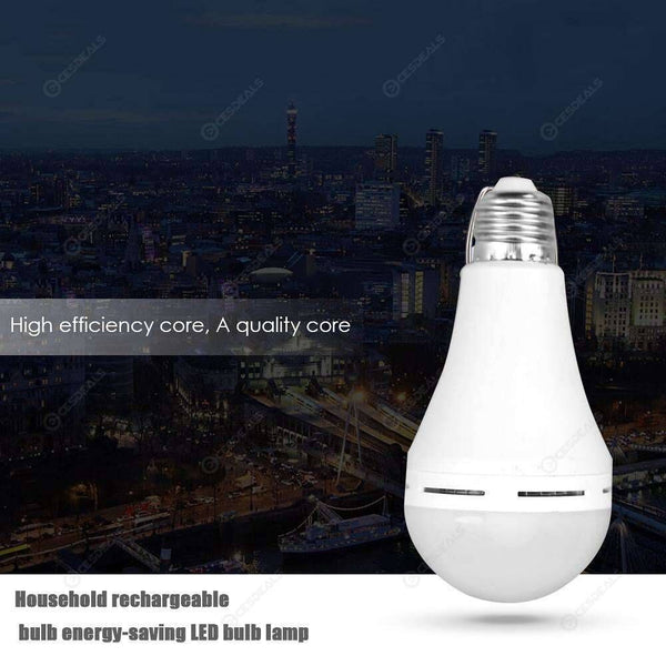 2x Rechargeable LED bulb 12W