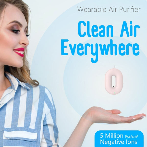 Wearable Necklace Sanitizer