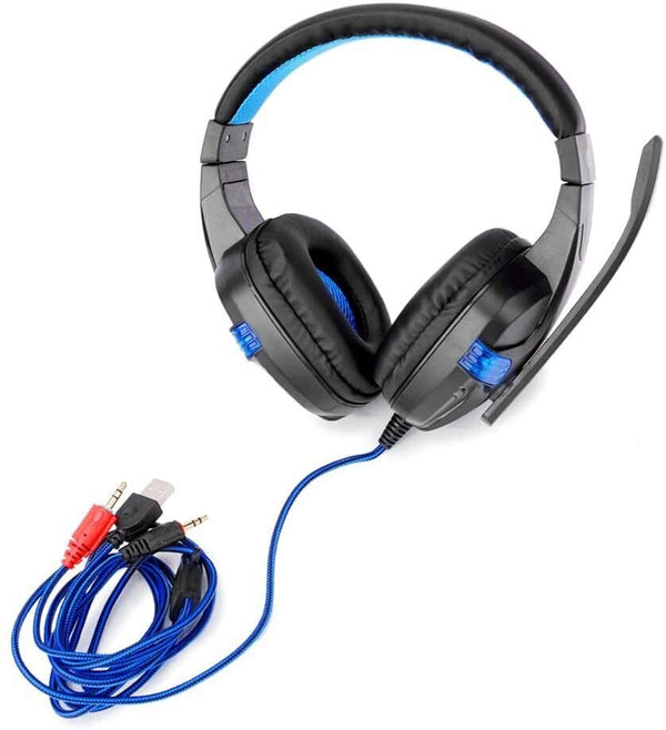 Wired Over Ear Headphones & Mic