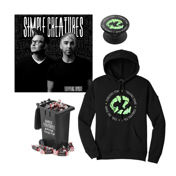EVERYTHING OPPOSITE ALBUM PREORDER - PULLOVER HOODIE BUNDLE