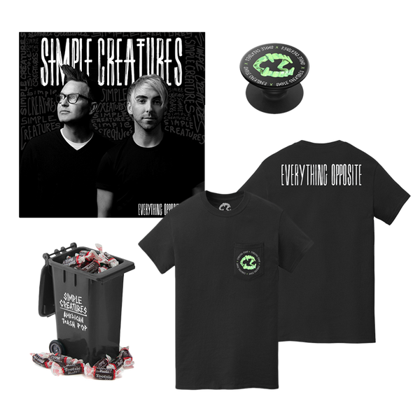 EVERYTHING OPPOSITE ALBUM - POCKET TEE BUNDLE