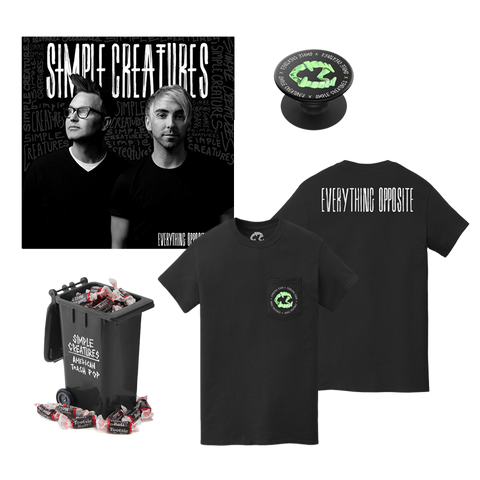 EVERYTHING OPPOSITE ALBUM PREORDER - POCKET TEE BUNDLE