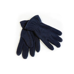 Gloves (Navy Fleece)
