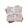 Set 2 Mantas Muselina Grande Happy Dots Rosa