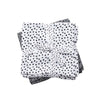 Set 2 Mantas Muselina Grande Happy Dots Gris