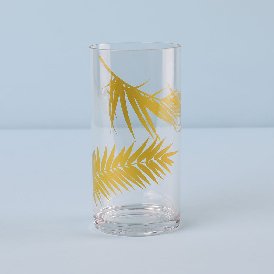 Sweet Paradise Highball Glass 4-Piece Set