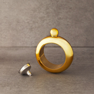 Gold Bangle Flask