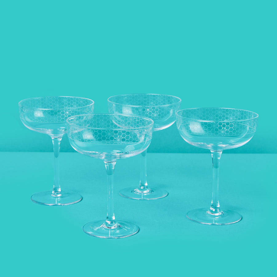 Coupe Glass Set
