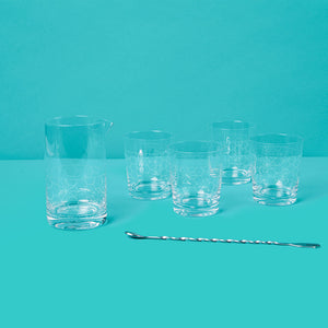 Cocktail Mixing Glass Set