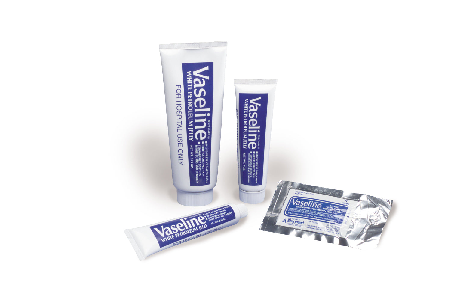 Kendall Vaseline Pure Ultra White Petroleum Jelly Tube