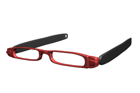 Twisters Red Reading Glasses
