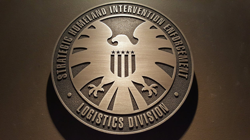 Marvels Agents of SHIELD plaque Version 2