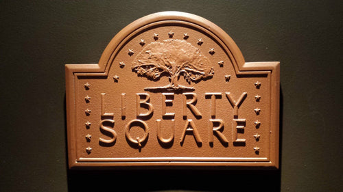 liberty square trash can plaque