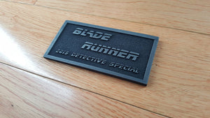Blade Runner 2019 Detective special plaque