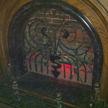 Disney haunted mansion fireplace grill disneyland