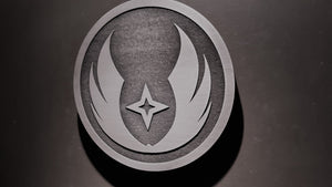 star wars Gray Jedi order plaque sign