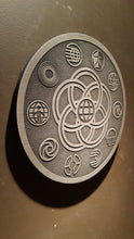 Disney inspired epcot vintage logo plaque