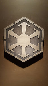 star wars sith logo plaque