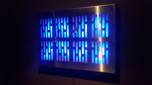 Star Wars DL-44 wallmount Display stand with LED lights vertical light bar version