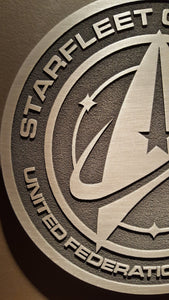 Star Trek Starfleet Command united federation of planets  plaque