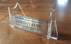 Star Wars Lightsaber acrylic Display stand
